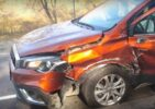 На Сумщині сталася ДТП: зіткнулися Mercedes-Benz і Suzuki