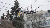 Сумчан рятують маршрутки, бо тролейбуси не пройшли випробування ожеледицею